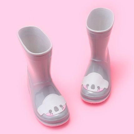 Koala Cartoon Cute Rain Boots For Girls