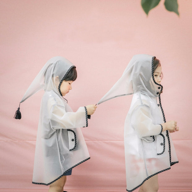 Transparent Waterproof Children's Raincoat