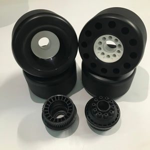 Unbranded 105s Wheels(Pack of 4)