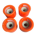 85mm Boosted Wheels (Orange & Grey)