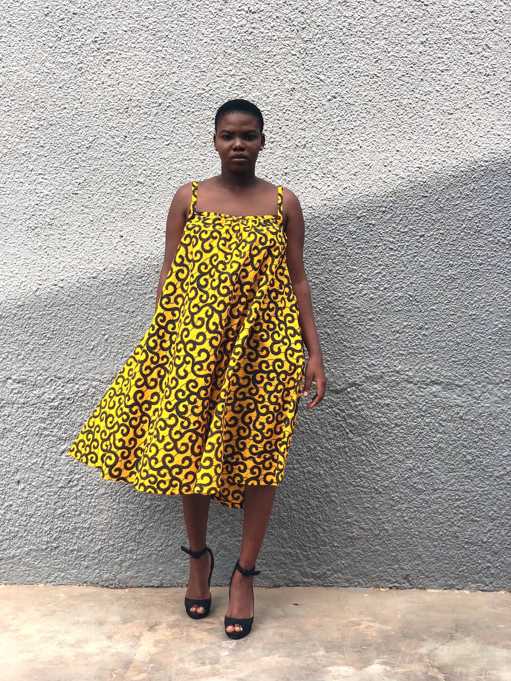Beedagel Esi: Ankara Sunny Dress