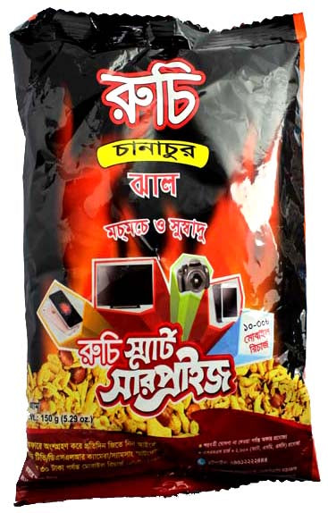 Ruchi Spicy Chanachur 150g
