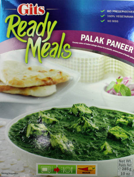 Ready Meals PALAK PANEER 285gm