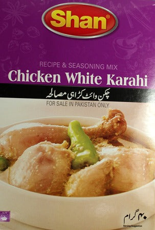 Chicken White Karahi 50g