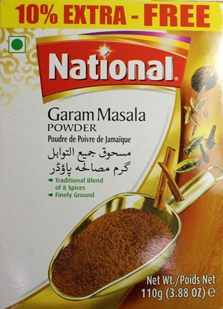 Garam Masala Powder 110g