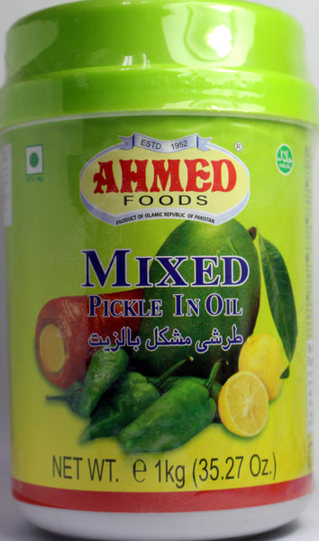 Mixed Pickle in Oil 1kg