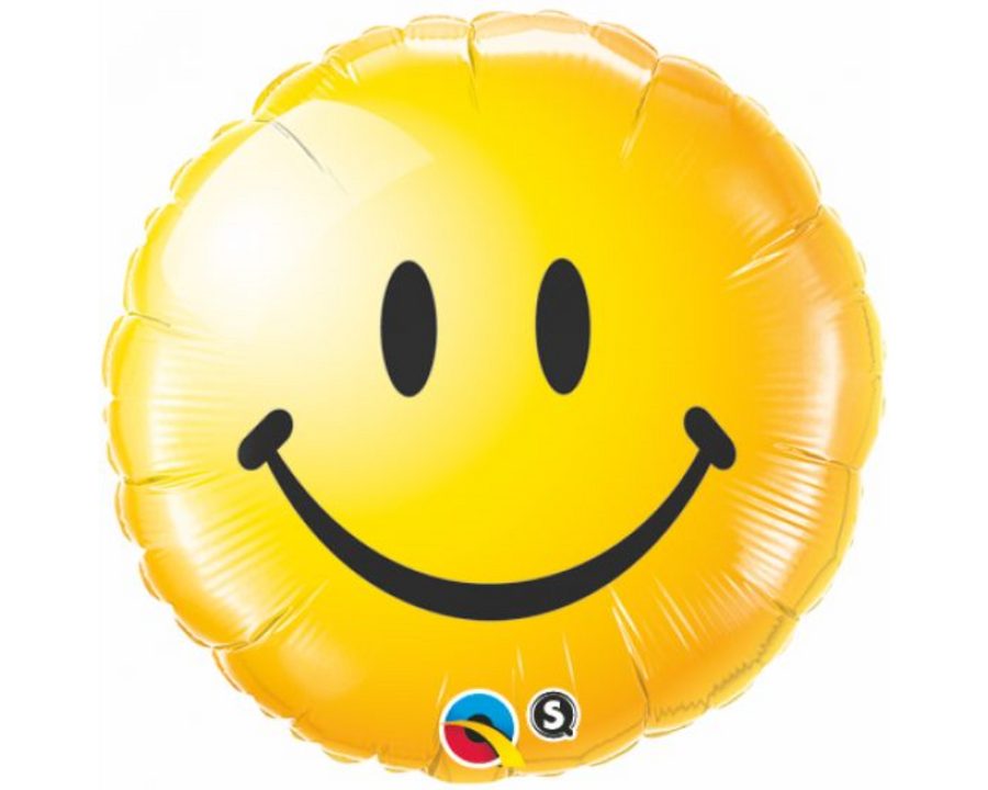 Smiley Face Yellow Balloon