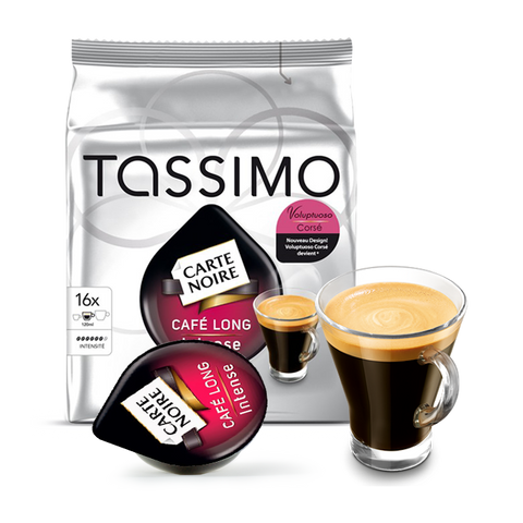 Tassimo Carte Noire Cafe Long Intense (16 capsule)
