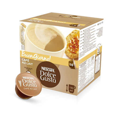 Dolce Gusto Cafe Au Lait (16 capsule)