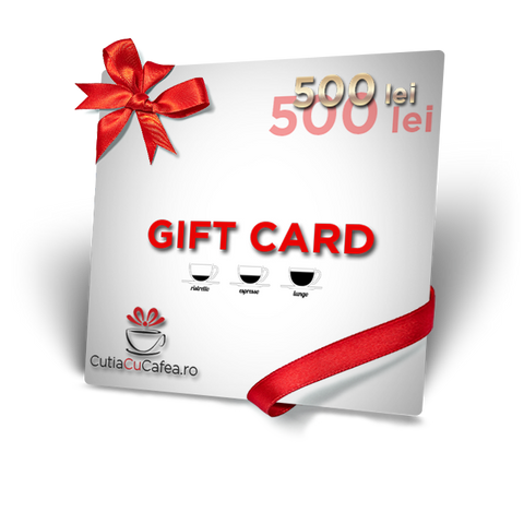 Gift Card - 500 RON