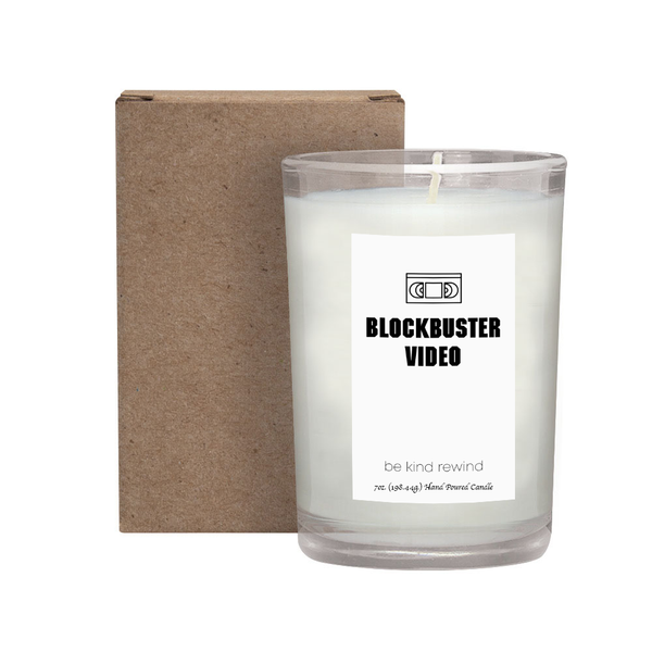 Blockbuster Video Candle