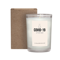 COVID-19 Smell Test Candle