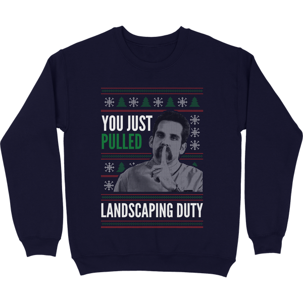 The Landscaping Duty Tacky Sweater