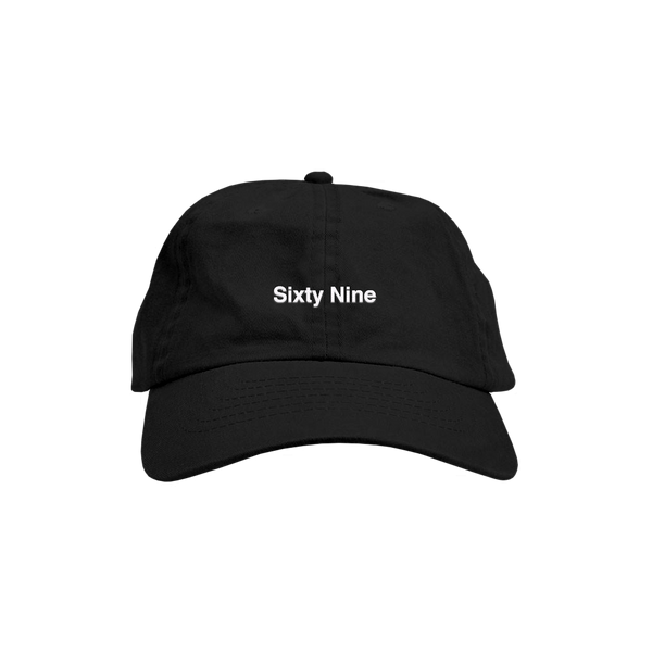 Sixty Nine Hat Black