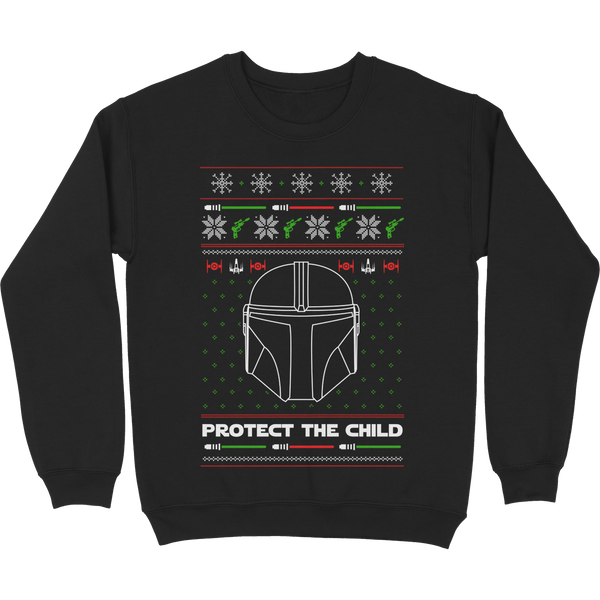 Protect The Child Tacky Sweater