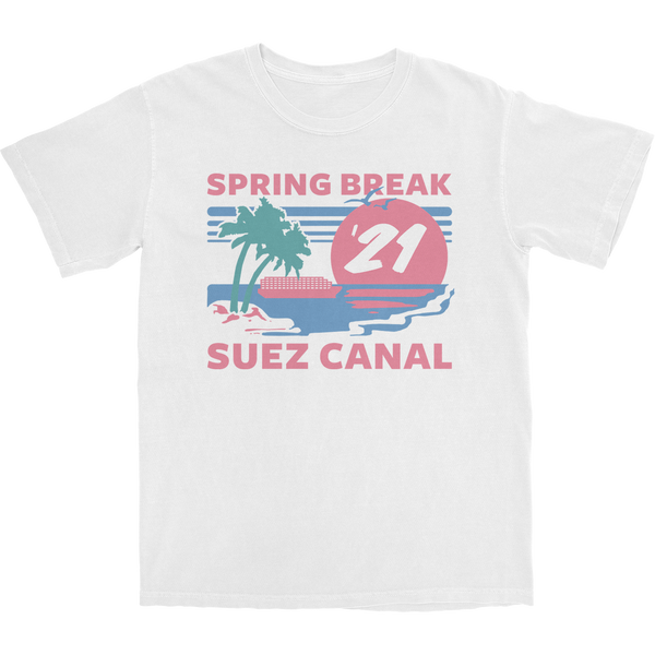 Suez Canal Spring Break T Shirt
