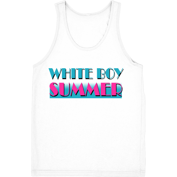 White Boy Summer Tank