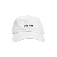 Sixty Nine Hat White