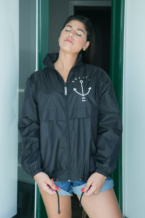 "The wind""Anchor"" jacket with hood -Giacca a vento - JP Amalfi"