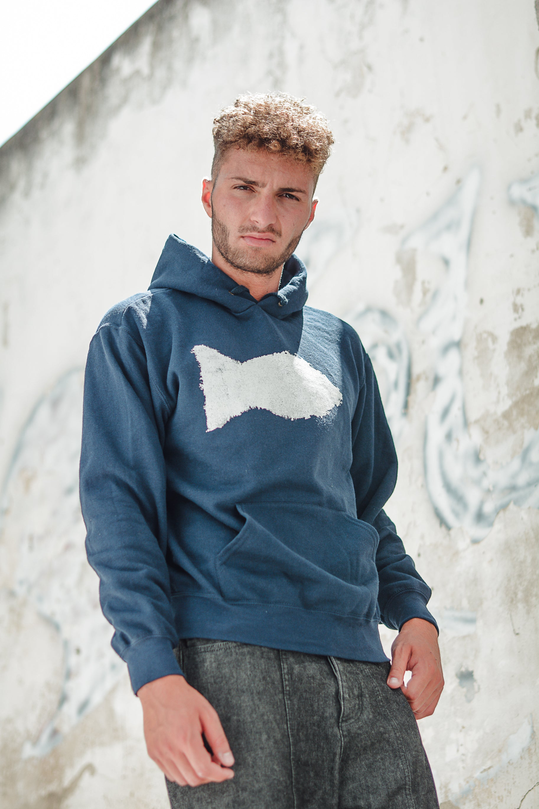 Pescione hoodie sweatshirt _man collection - JP Amalfi