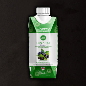 The Berry Company Green Tea Blueberry 330 ml