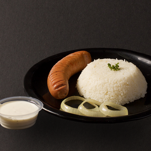 Hungarian Sausage with Rice