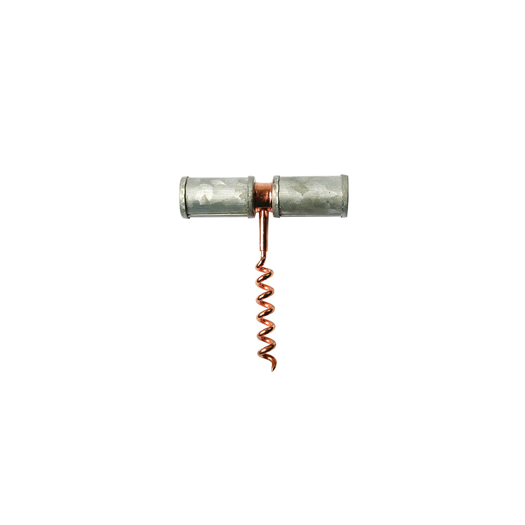 Galvanized Corkscrew, Copper