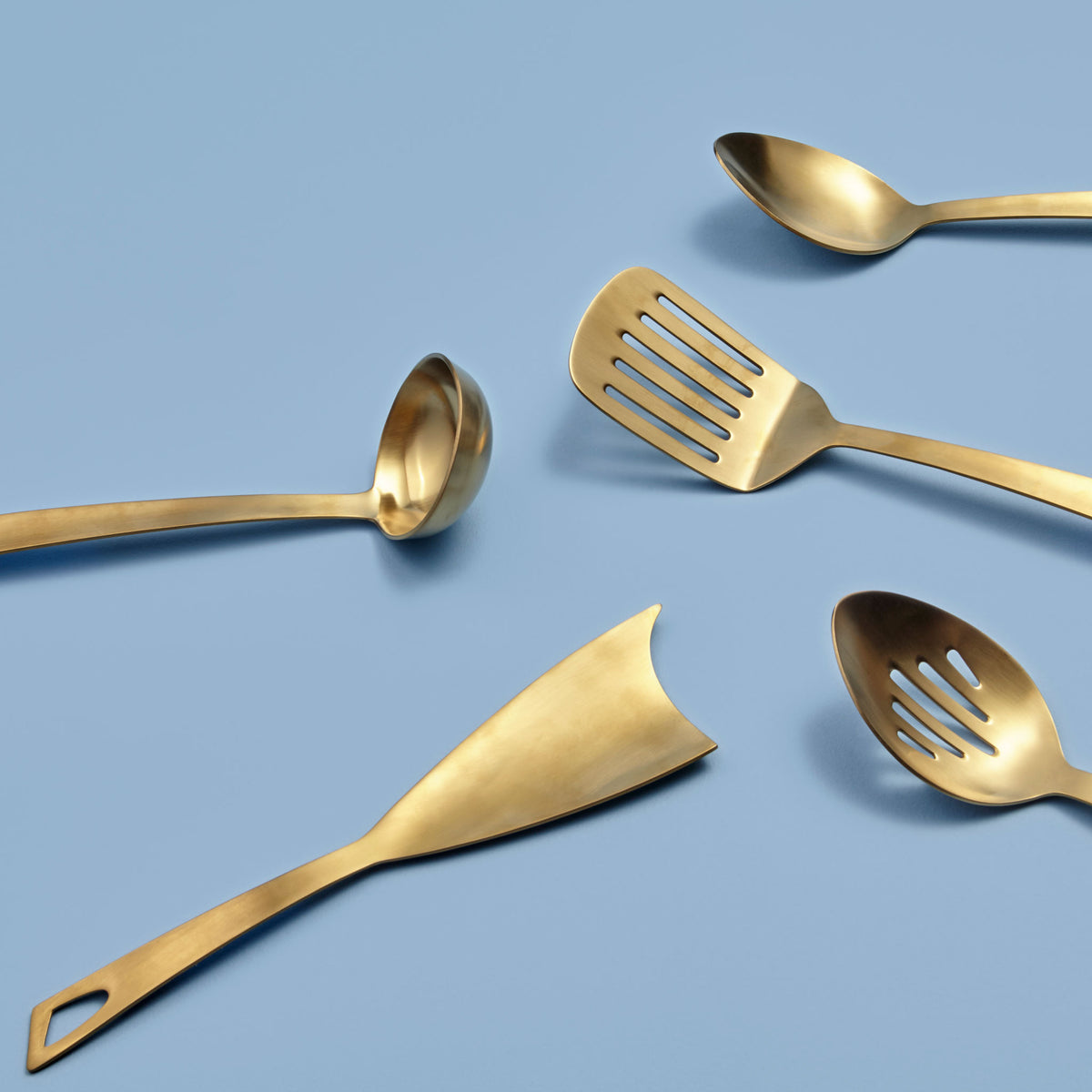 Matte Gold Mixing Spoon