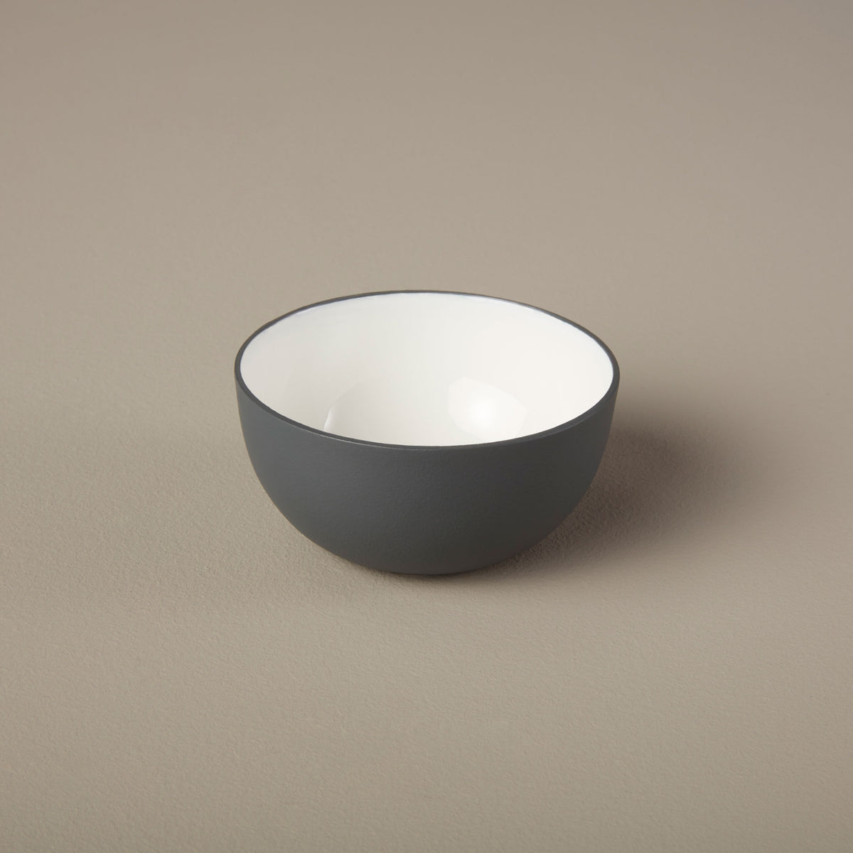 Aluminum & Enamel Bowl, Mini