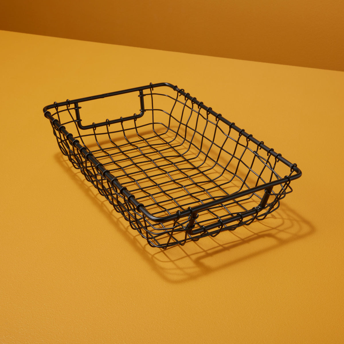 Black Wire Letter Basket