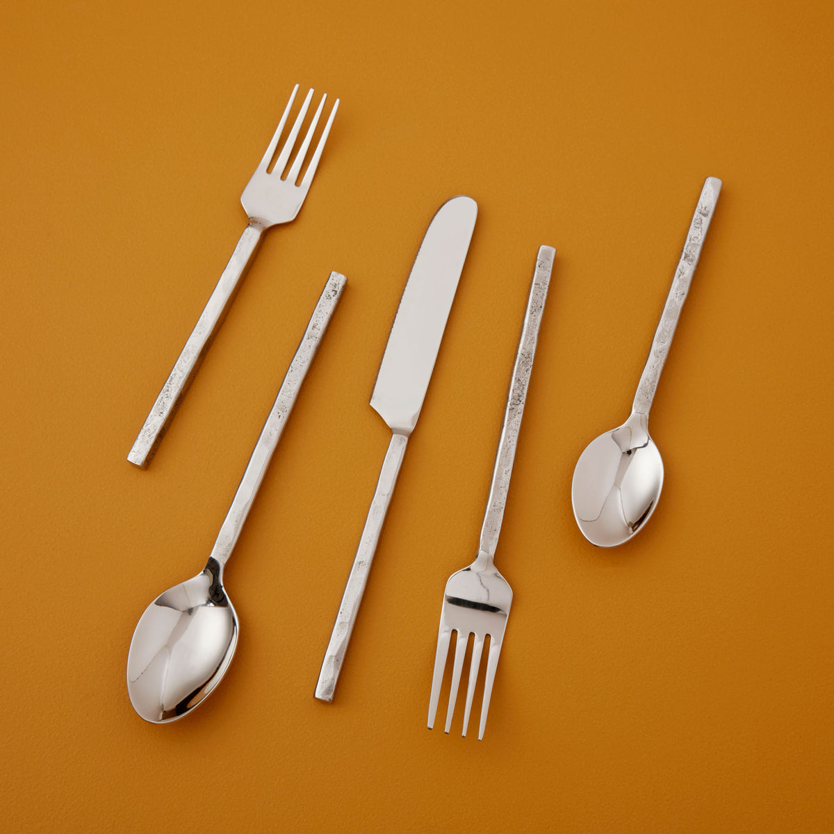 Silver Forged Flatware Set