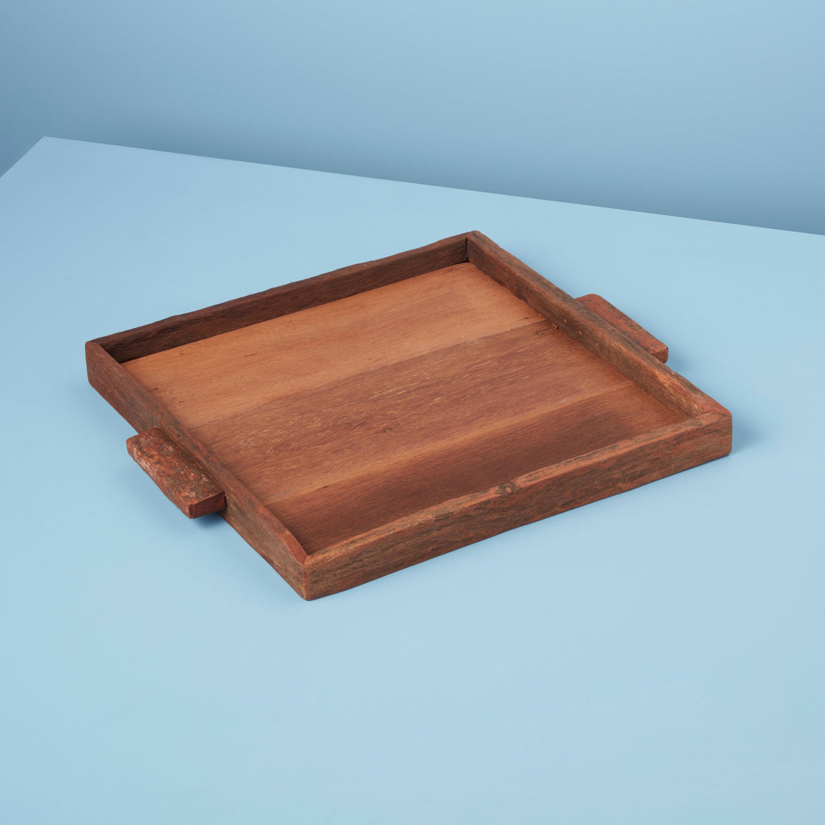 Reclaimed Wood Tray Square, Large