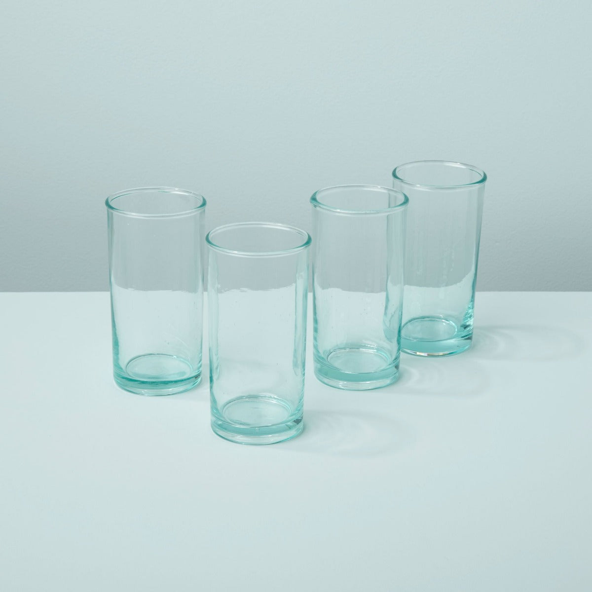 Premium Recycled Glass Highball Set of 4