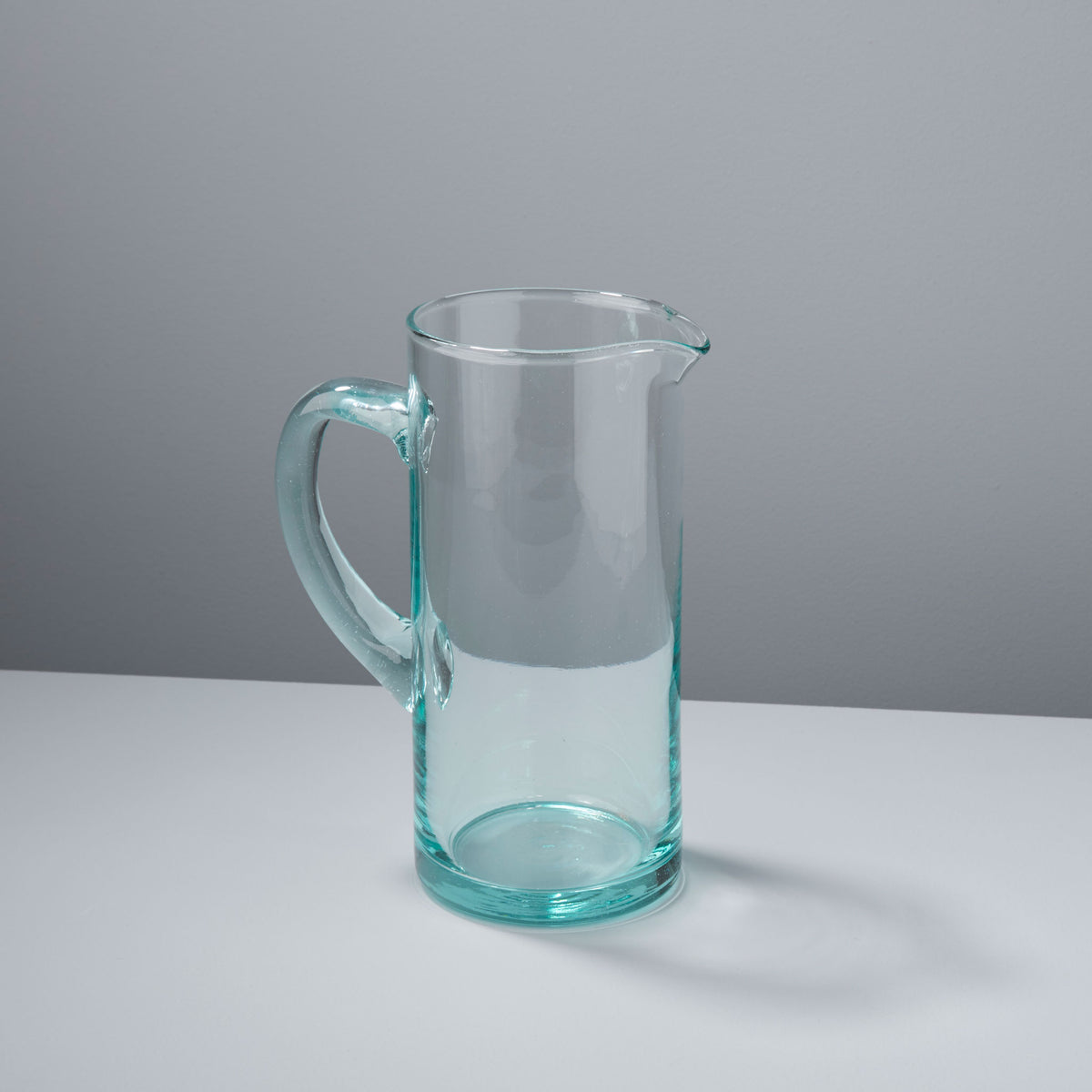 Premium Recycled Glass Modern Pitcher