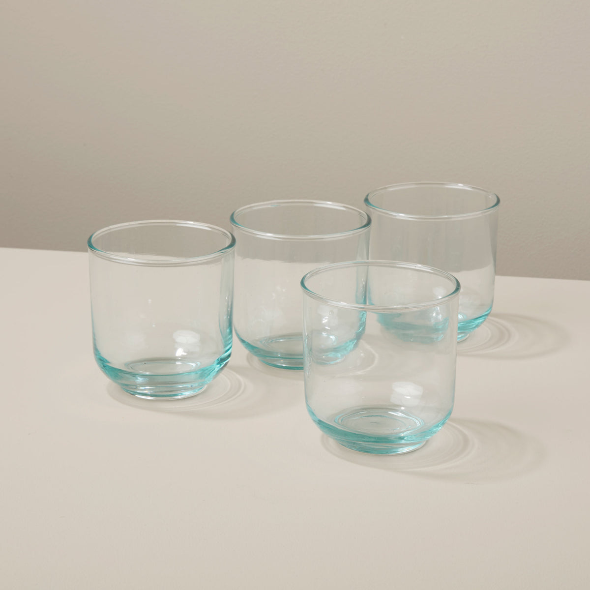 Recycled Glass Tumbler Set of 4