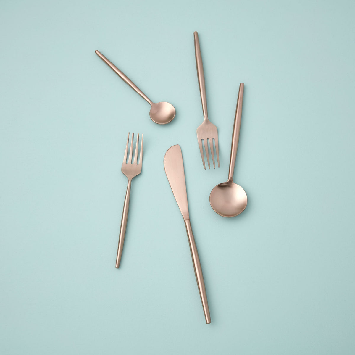 Rose Flatware Set