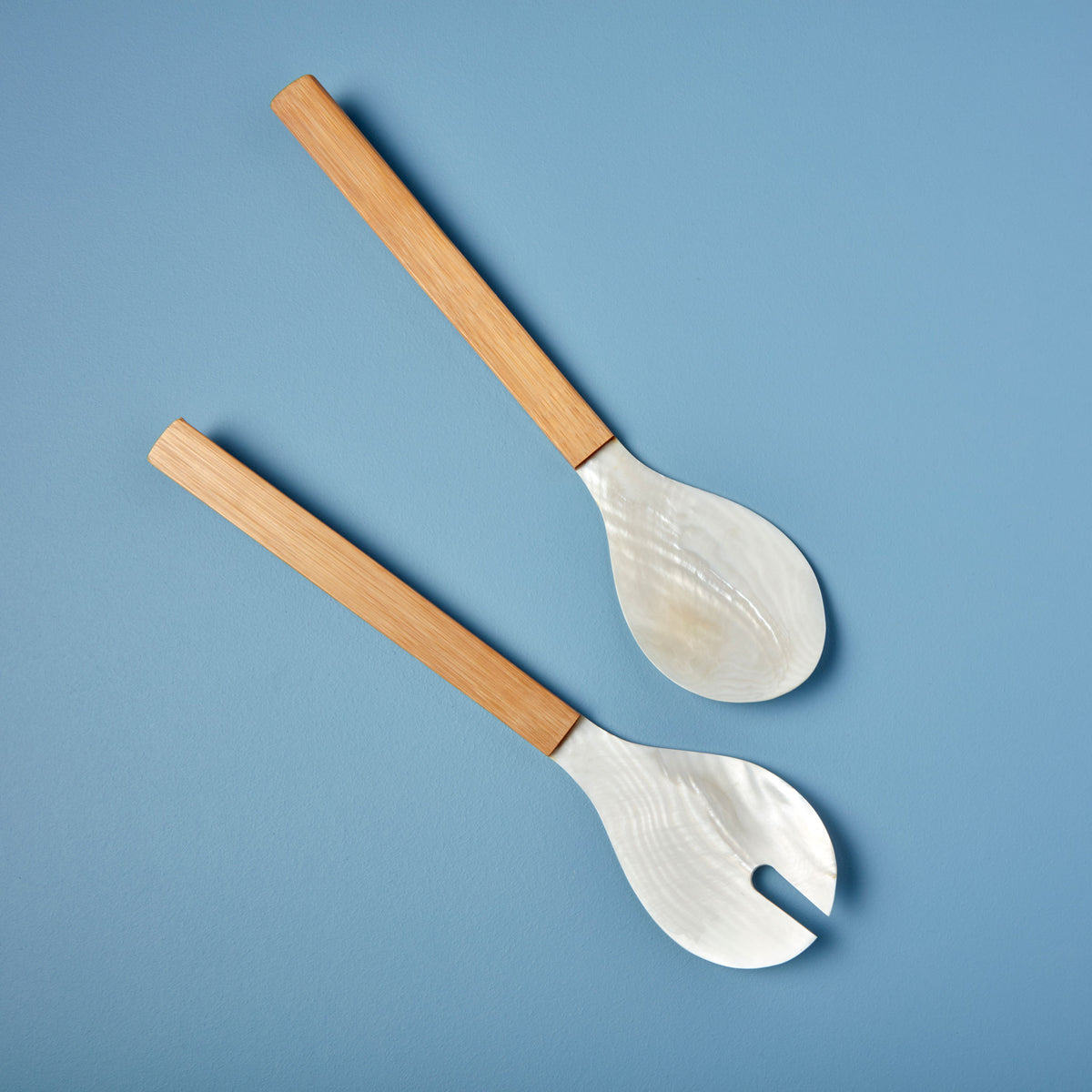 Shell & Bamboo Serving Set