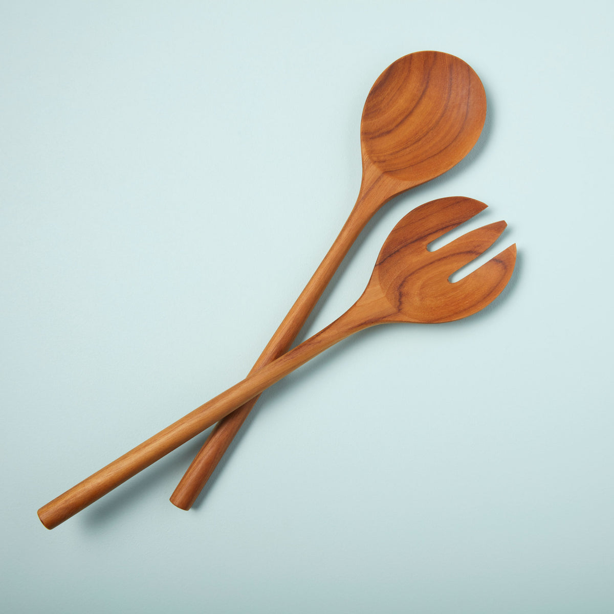 Teak Oversized Serving Set