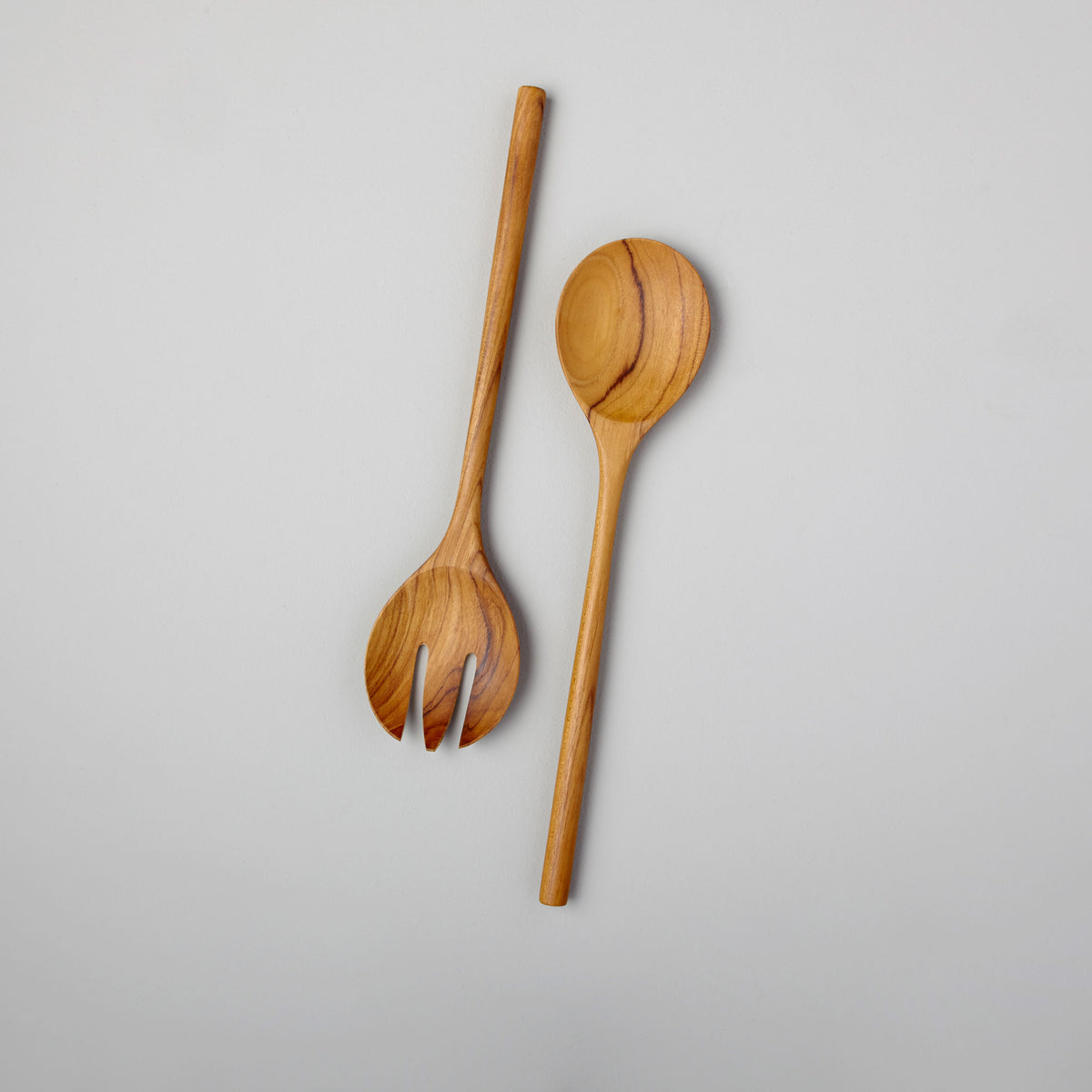 Teak Serving Set, Large