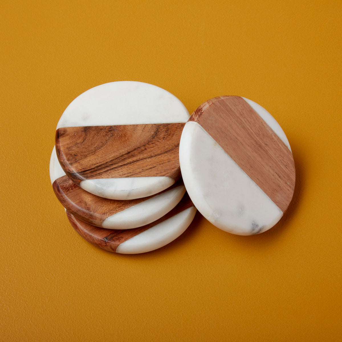 Pavia Round Coasters, Set of 4