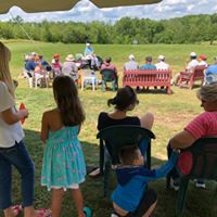 Family activity at Barnes Brook golf Course