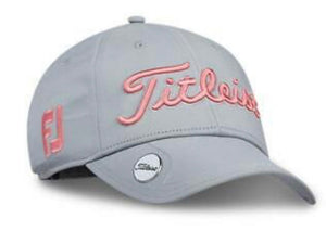 Titleist Women's Tour Performance Ball Marker Grey Hat