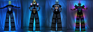 LED Robot Costumes