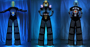 LED ROBOT SUIT -Slides