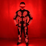 Load image into Gallery viewer, New Arrived LED Robot Suits Luminous Jacket Laser Suit Fashion Coat for EDM Music Festival Costumes