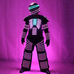 Charger l'image dans la galerie, LED Robot Costume Robots Vêtements DJ Traje Party Show Glow Costumes pour Dancer Party Performance Electronic Music Festival DJ Show