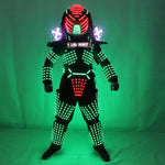 Load image into Gallery viewer, LED Robot Costumes Clothes LED Lights Luminous Stage Dance Performance Show Dress for Night Club