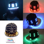 Load image into Gallery viewer, Adult Girl LED Party Flashing Jazz Hat Sequins Cap Sports Fitness Bike Birthday Gift Glow Wedding Party Supplies Gift
