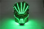 Load image into Gallery viewer, Flashing El Wire Mask Led Glowing Beauty Christmas Party Mask Festival Event Haloween Mask