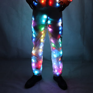 Unisex LED Flash Light Up Rave Jacket Sport Outwear Party Costume Fancy Long Sleeve Zipper Hooded Pocket Glowing Clothes